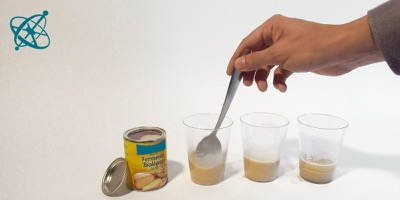 Sciensation hands-on experiment for school: Yeast's feast ( biology, microorganism, yeast, fungi, life, metabolism)