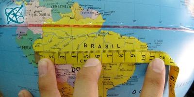Cinsao hands on experiment the true size of brazil geography sciensation hands on experiment for school the true size of brazil geography gumiabroncs Images